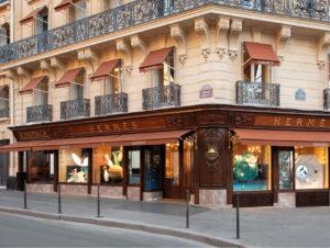 Die neue Hermès-Boutiquean der Avenue George V