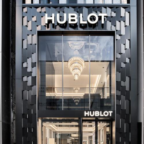 Der Store erstreckt sich über drei Etagen.