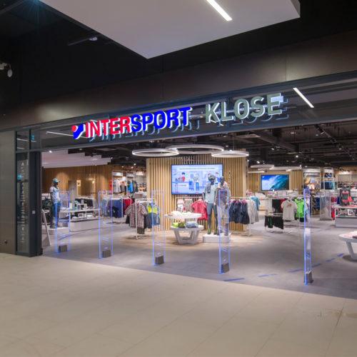 Die Fassade des neuen Stores in der Stadtgalerie Velbert