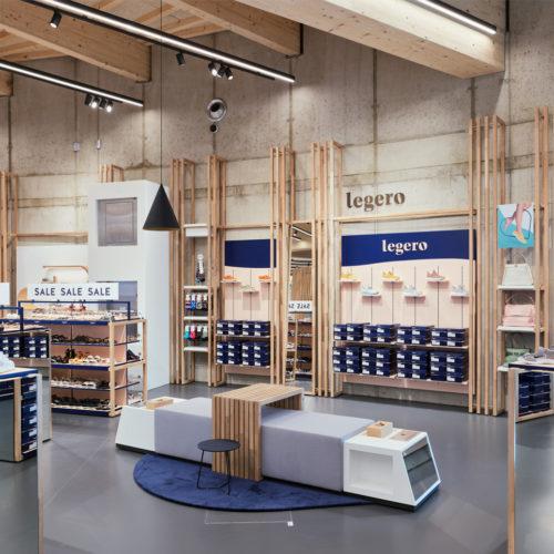 Bei der Auswahl der Materialien legte Legero Wert auf nachwachsende Rohstoffe.