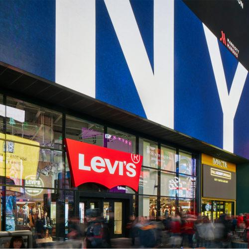 Fassade von Levi's