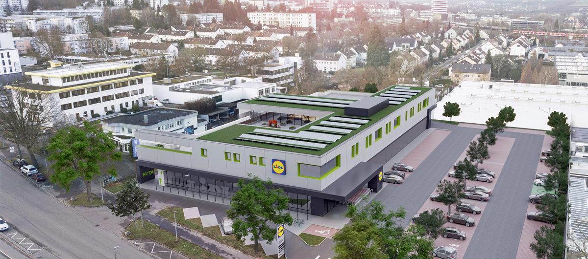 Zukünftige Lidl-Filiale in Bietigheim-Bissingen