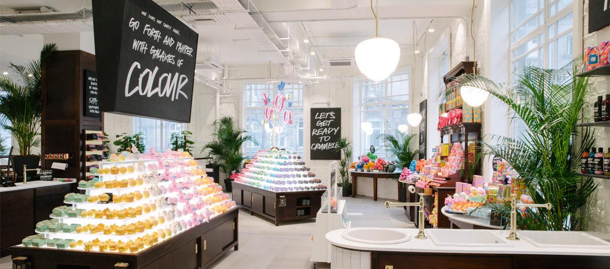 Lush präsentiert sich in Liverpool mit einem Store der Superlative