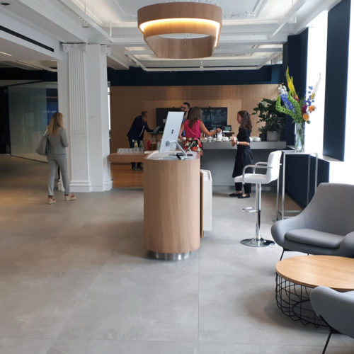 Das 3. Obergeschoss ist für Geschäftstermine vorgesehen.