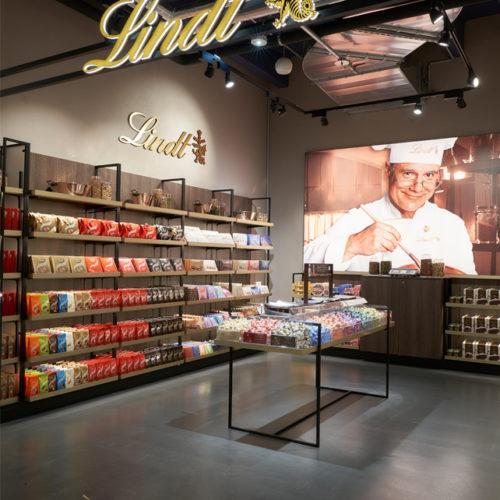 Shop-in-Shop von Lindt