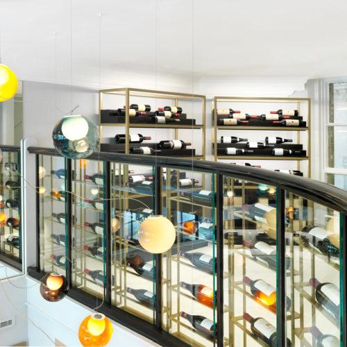 Wein-Ballustrade