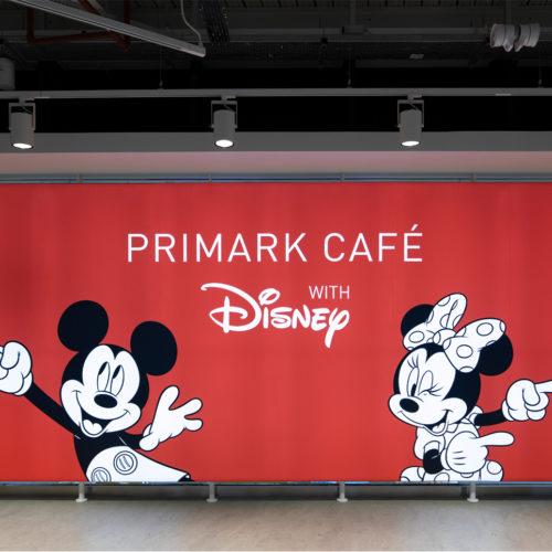 Leuchtkasten mit Mickey und Minnie