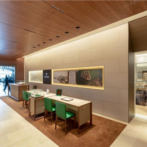 Bucherer mit angeschlossener Rolex-Boutique