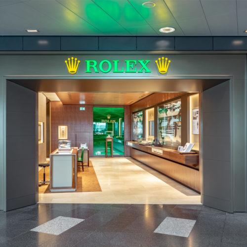 Rolex-Fassade