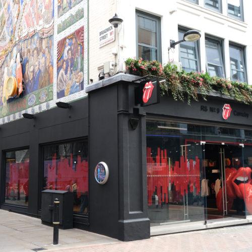 In dieses Eckladenlokal auf der Carnaby Street zog der Flagship-Store ein.