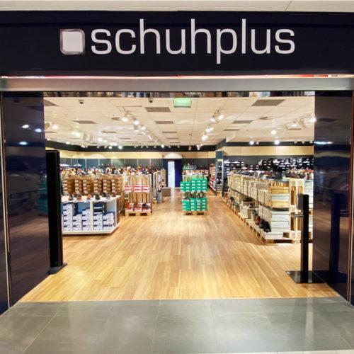 Fassade im Shopping-Center Hamburger Meile