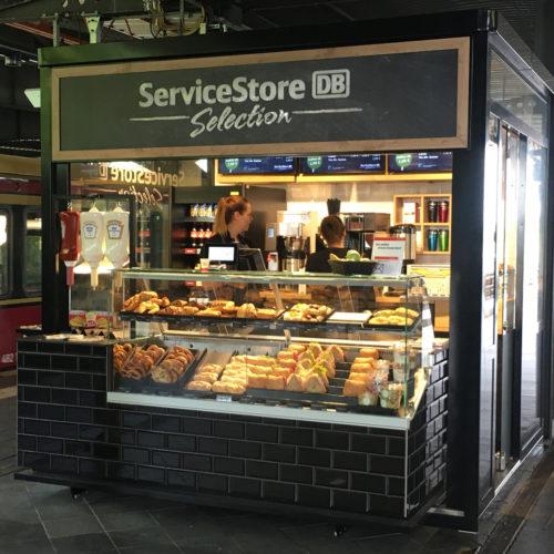 Die Service-Pavillions haben eine Verkaufsfläche von 7 qm