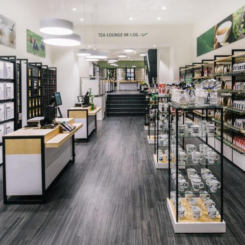 Der Tee Gschwendner-Store in Hamburg an der Bergstraße zeigt exemplarisch das neue Store-Design.