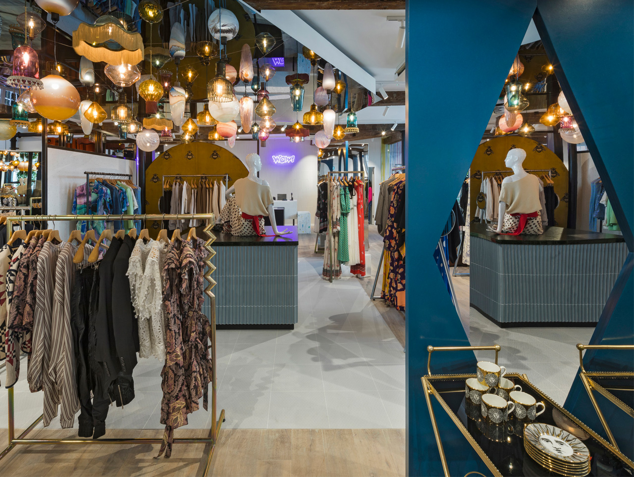 The Shop at Bluebird in London/Großbritannien