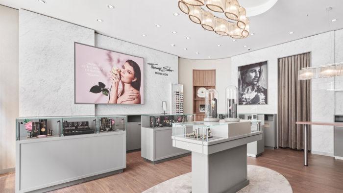 Neues Store-Konzept von Thomas Sabo, hier in München