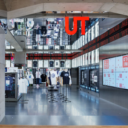 Areal der Uniqlo-T-Shirts (UTs)