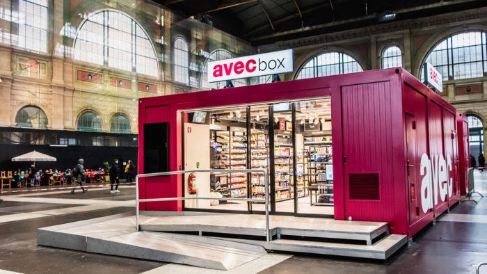 "Der digitale Convenience-Store: ""avec box"" bietet Konsumenten 24/7 Zugang."