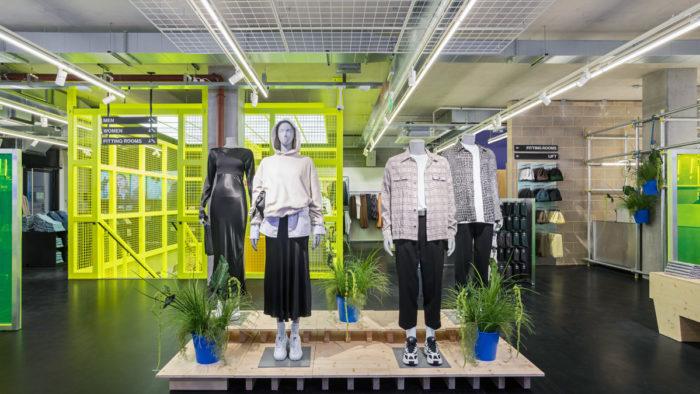 Neuer Weekday-Store im Londoner Stadtteil Shoreditch