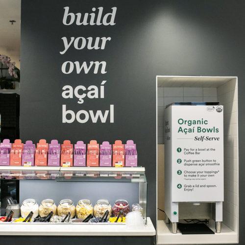 Build-your-own-bowl in Selbstbedienung: Turbo-Snack für Gesundheitsbewusste