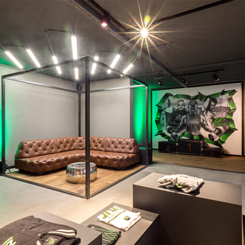 Chill Out-Area als Gaming-Bereich