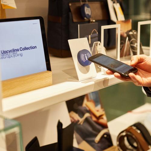 NFC-Tags bieten weiterführende Informationen