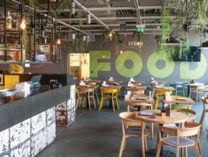 """Der """"Dachgarten"""", ein trendiger Gastronomiebereich bei Engelhorn in Mannheim, erweiterte zu Beginn des Lockdown sein Angebot um einen Abhol- und Lieferservice."""
