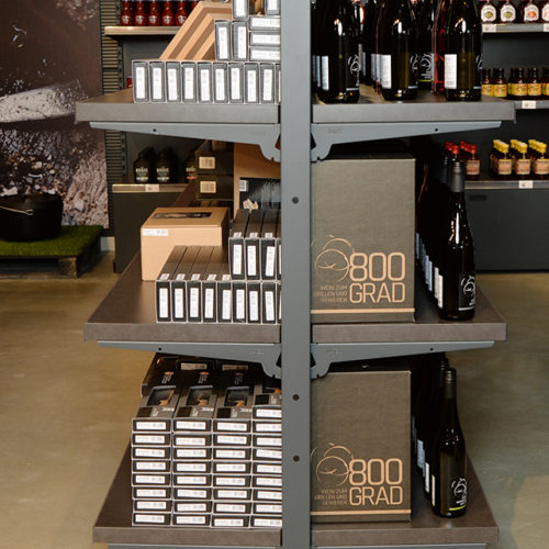Grillardor hat gemeinsam mit einem Winzer eine eigene Weinmarke entwickelt.