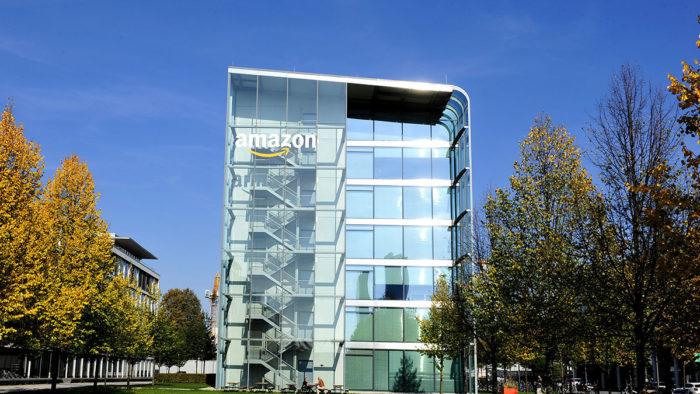 Amazon Standort in München Schwabing-Nord.