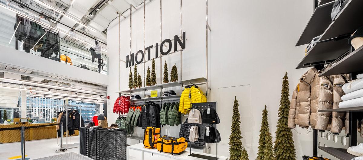 """Das Luxuskaufhaus Jelmoli hat im neueröffneten Quartier """"The Circle"""" am Züricher Flughafen zwei Standorte eröffnet."""
