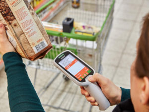 Mobile Scanning mit Handheld bei Globus