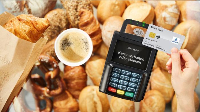 Die Corona-Krise pusht die Kartenzahlung in Bäckereien.
