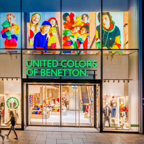 Die neue Filiale folgt dem Londoner Konzept, das Benetton im Jahr 2018 in der britischen Hauptstadt eingeführt hat.