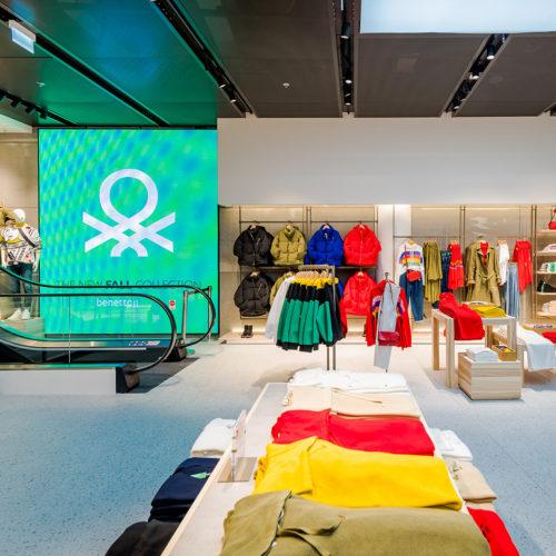 Im Mittelpunkt: Die farbenprächtigen Kollektionen der italienischen Marke.