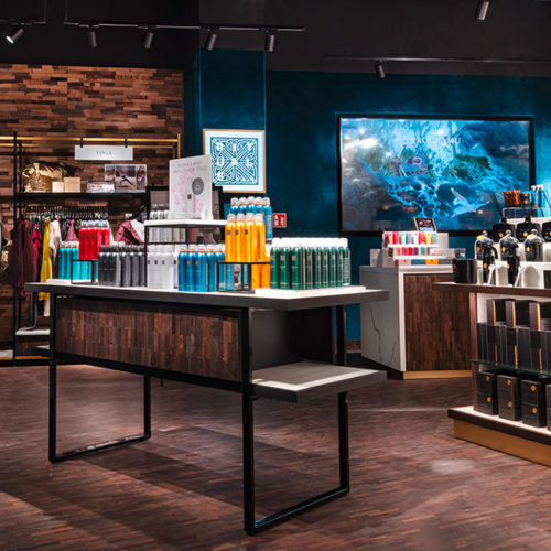 Schwitzke Górski setzte ein einheitliches Storedesign in den europäischen Stores um.