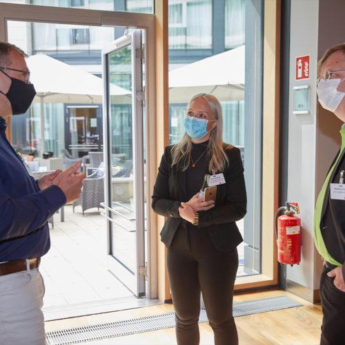 Ein umfangreiches Hygienekonzept sorgte für die Sicherheit aller Teilnehmer und Referenten.