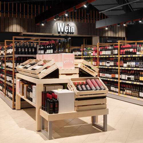 Wein-Abteilung