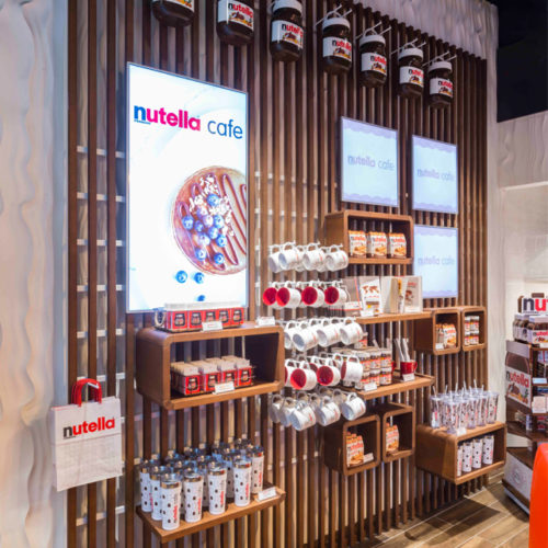 Nutella-Café in New York