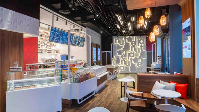 Nutella betreibt seit November 2018 ein Café in New York.