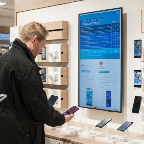 Das neue Konzept setzt auf digitale Tools, um das Kundenerlebnis zu verbessern.