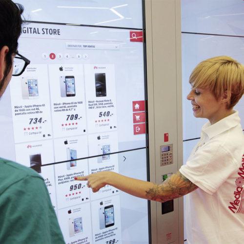 In Barcelona testet Media Markt ein neues, digitales Geschäftsmodell auf einer Kleinfläche von rund 400 qm. (Foto: Media Markt Saturn Retail Group)