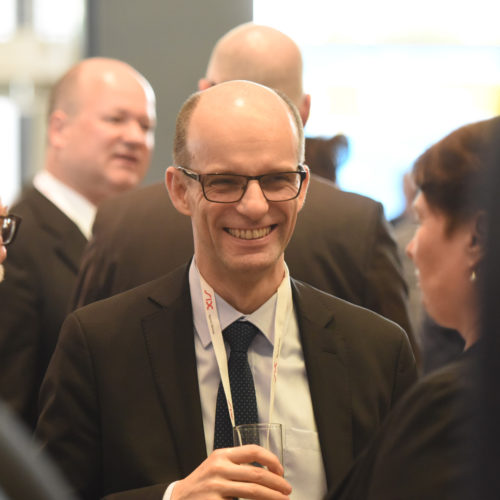 Besuch aus Frankreich: Dr. Cèdric Sarazin (Groupement des Cartes Bancaires)