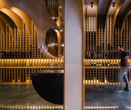 Imposante Architektur auf gerade mal 35 qm (Fotos: De Vinos y Viandas/Zooco)