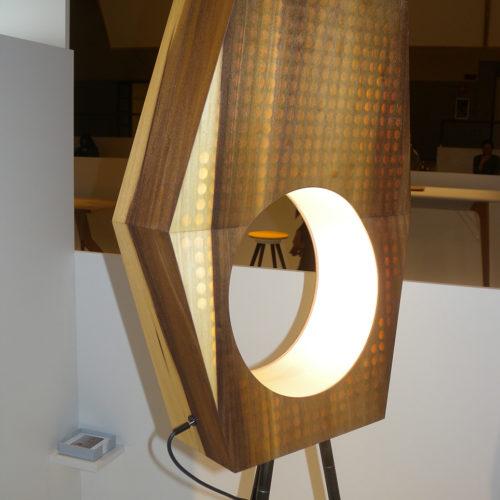 Raw Refinement: Wood Light Floor (13&9 Design)