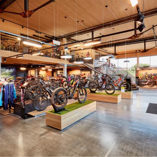 Fahrrad-Paradies auf 1.240 qm Verkaufsfläche