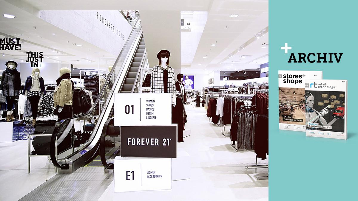 Premium Filiale Für Fast Fashion Storesshops