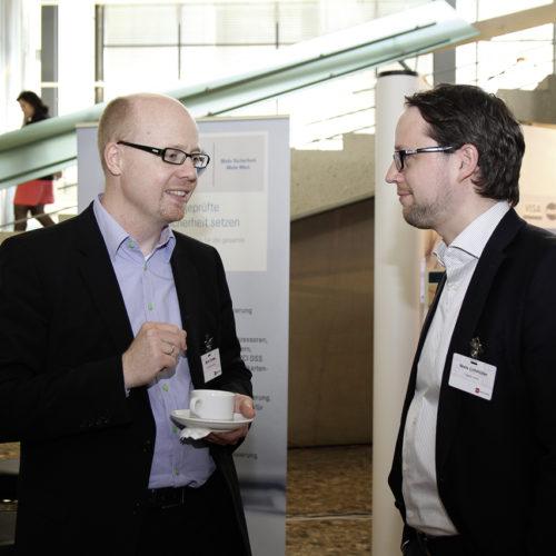 Innovations-Duo aus Hamburg: Björn Cordes (Ethalon) und Niels Lohmüller (Yapital)