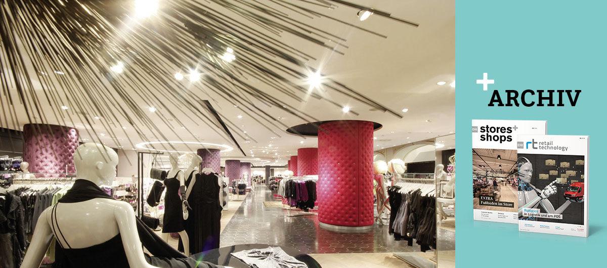 Sinnesfrohe Shopping Welten | stores+shops