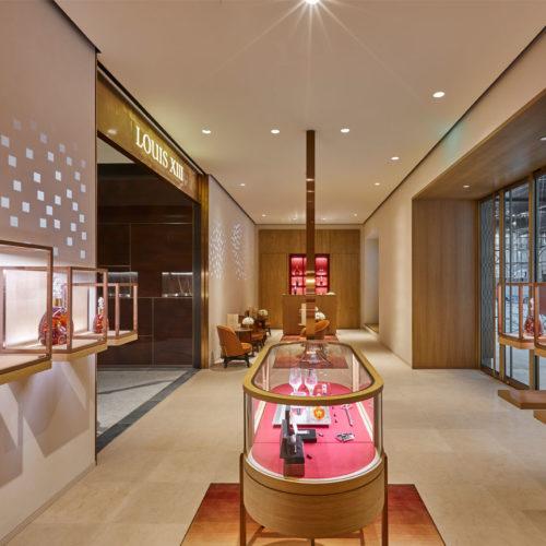 130 qm misst der Louis XIII-Store in Peking. (Foto: Louis XIII)