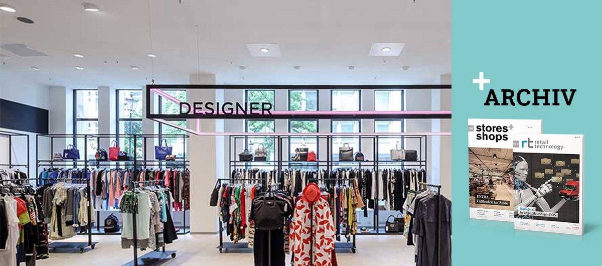 viel raum f r luxus labels stores shops. Black Bedroom Furniture Sets. Home Design Ideas