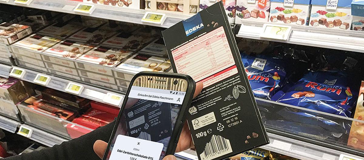 Edeka Mobiles Self Scanning Per Smartphone Storesshops